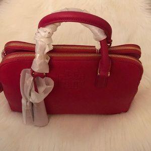 Tory Burch double zip Thea satchel.